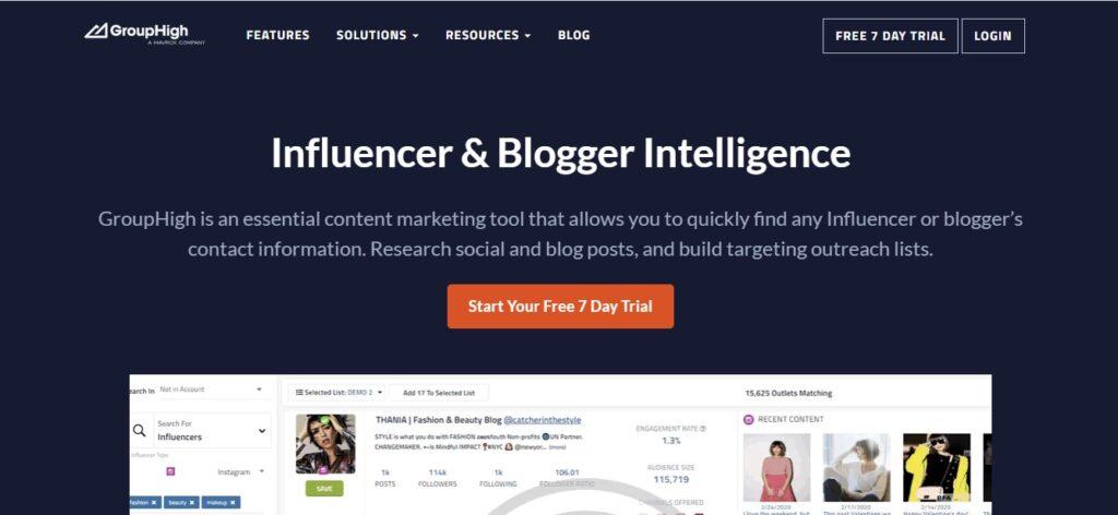 GroupHigh Blogger Backlink